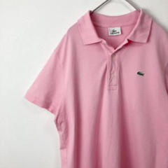 """Thumbnail of """"LACOSTE ラコステ 鹿の子 ポロシャツ ワニロゴ ピンク L 606"""""""