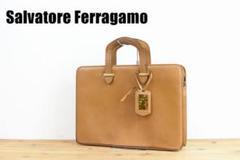 "Thumbnail of ""A5915 Salvatore Ferragamo ブリーフケース レザー"""