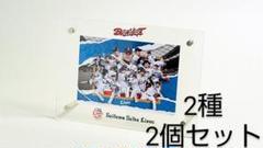 """Thumbnail of """"埼玉西武ライオンズ ポストカード付きアクリルフォトフレーム 2個セット"""""""