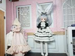"""Thumbnail of """"MDD用 服 ドレスセット お洋服、うさみみ"""""""