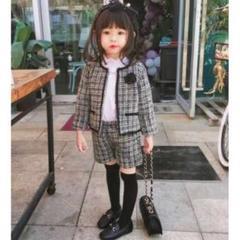 """Thumbnail of """"ツイード セットアップ パンツ ジャケット 結婚式 発表会 女の子 110cm"""""""