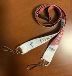 "Thumbnail of ""新品)ネックストラップ (赤)TOKYO2020 オリンピック パラリンピック"""