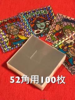 "Thumbnail of ""日本製 ハードスリーブ 52角用 100枚 ビックリマンシール"""