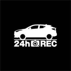 "Thumbnail of ""【ドラレコ】トヨタ C-HR【10系】前期型 24時間 録画中 ステッカー"""