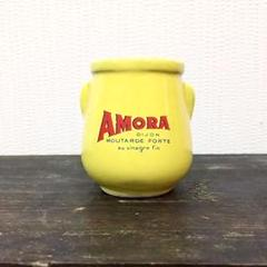 "Thumbnail of ""希少 フランスブロカント  amora 陶器 小瓶 アンティーク"""