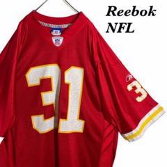 "Thumbnail of ""【人気デザイン】リーボック NFL ナンバリング ゲームシャツ Lサイズ"""