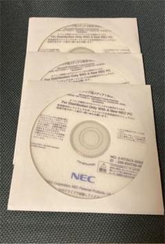 "Thumbnail of ""NEC VALUESTAR リカバリーディスク"""