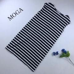 """Thumbnail of """"♪美品♪ MOGA モガ ボーダー ワンピース ノースリーブ"""""""