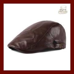 "Thumbnail of ""O ハンチング帽 茶色 ハンチング ベレー帽 7m30OC013"""