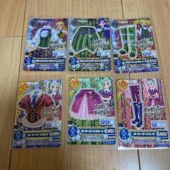 """Thumbnail of """"初期アイカツカード■ロリゴシック 6枚セット 藤堂ゆりか"""""""