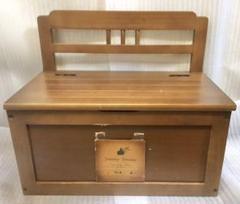 "Thumbnail of ""ベンチ 収納 ボックス 木製 ウッド 木箱 家具 椅子"""