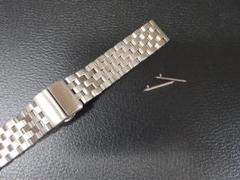 "Thumbnail of ""20mm エンジニアブレス 腕時計ステンレスベルト クイックリリース 中古"""