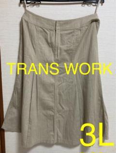 "Thumbnail of ""TRANS WORK 裾フレアー ロング スカート 三陽商会"""
