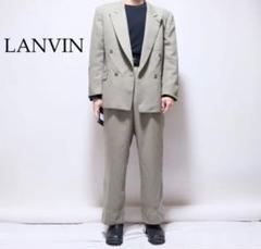 """Thumbnail of """"LANVIN カーキ ダブルジャケット スラックス セットアップ スーツ"""""""