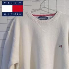 "Thumbnail of ""90s 旧タグ TOMMY HILFIGER トミーヒルフィガー ニット 胸ロゴ"""