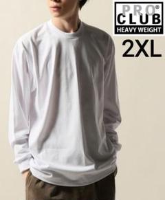 """Thumbnail of """"⑭プロクラブ 白 2XL ヘヴィーウェイトロンT ProClub 長袖 ホワイト"""""""