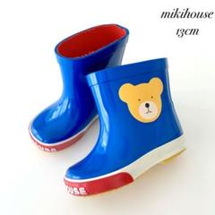 "Thumbnail of ""希少 MIKIHOUSE ミキハウス レトロ レインブーツ 長靴 13cm"""