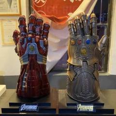"Thumbnail of ""アベンジャーズアイアンマン ナノ無限の手袋/サノス 無限の手袋 1:1全金属2点"""