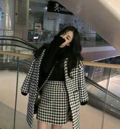 "Thumbnail of ""韓国 ファッション レディース セットアップ 千鳥格子7"""