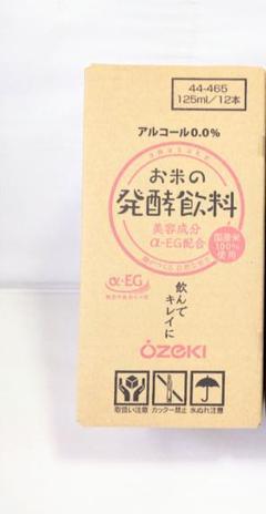 "Thumbnail of ""大関 お米の発酵飲料125ml×12本 国産米使用"""