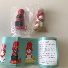 "Thumbnail of ""猫に蛸  ガチャガチャ  三毛  黒"""