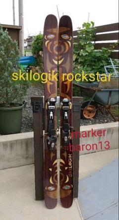 "Thumbnail of ""SKILOGIK ROCK STAR 178スキーロジック+MARKER"""
