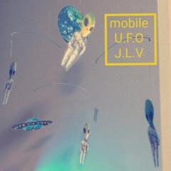 "Thumbnail of ""NEW!  UFO & グレイ 宇宙人 モビール UFO & グレイ 宇宙人"""