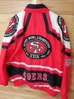 """Thumbnail of """"NFL 49ers 古着 90'S チャンピオン優勝記念 ナイロンジャケット"""""""