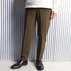 "Thumbnail of ""c79 ブラウン パンツ ウエストゴム 日本製"""