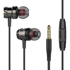 有線 イヤフォン 3.5mmジャック earphone
