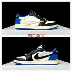 Travis Scott × Fragment × Nike AJ1 Low