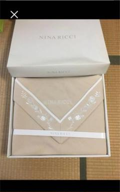 "Thumbnail of ""NINA RICCI  ニナリッチ 刺繍x綿毛布 未使用"""