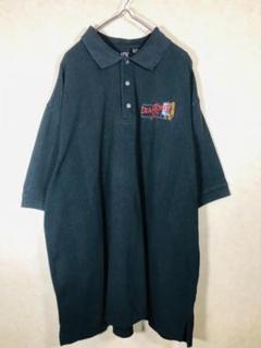 "Thumbnail of ""90s vintage ロゴ刺繍 オーバーサイズ ゆるダボ ポロシャツ レトロ"""