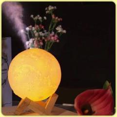 "Thumbnail of ""❤︎入荷❤︎ 月 加湿器 テーブルライト ムーンライト 間接照明 ランプ インテリア"""