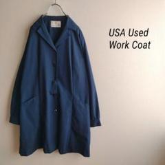 "Thumbnail of ""US古着 industrial uniform ネイビーワークコート"""