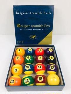 "Thumbnail of ""Belgian  super aramith Pro ビリヤードボール ?"""