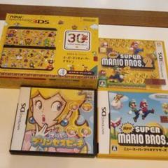 "Thumbnail of ""美品 New Nintendo 3DS 30th マリオメーカーデザイン セット"""
