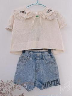 "Thumbnail of ""*v*♡Tシャツ子供服スーツ110♡"""