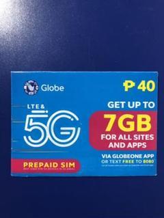 "Thumbnail of ""Omayu 様専用 Globe 5G 4G LTE Prepaid SIM 3枚"""