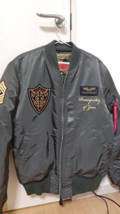"""Thumbnail of """"STRICT-G × ALPHA INDUSTRIES MA-1 ジオンモデル"""""""