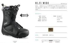 "Thumbnail of ""ヒイタ様専用SALOMON Hi Fi Wide Bk/Bk 25.0"""