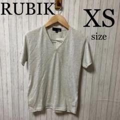 "Thumbnail of ""RUBIK Vネック Tシャツ メンズ カジュアル XS ストリート 半袖"""