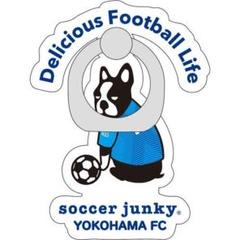 "Thumbnail of ""SoccerJunky 横浜FC×パンディアーニ コラボ スマホリング 11番"""