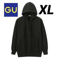 "Thumbnail of ""GU ヘビーウェイトビッグスウェットプルパーカー(長袖) ブラック XL"""