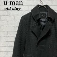 """Thumbnail of """"[希少][美品]u-man Pコート ジャケット 黒"""""""