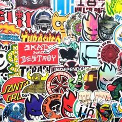 """Thumbnail of """"スケボーステッカー ◆100枚セット ステッカーボムに"""""""