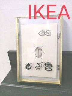 "Thumbnail of ""IKEA フォトフレーム レルボダ ゴールド 写真立て 10×15㌢"""