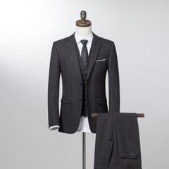 """Thumbnail of """"メンズスーツ フォーマルスーツ スリムスーツ ビジネススーツ 紳士服 3点セット"""""""