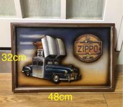 "Thumbnail of ""Zippo Car ジッポーカー アートパネル 立体アート"""