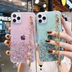 """Thumbnail of """"iPhone12proケース チェーン付き   ピンク"""""""